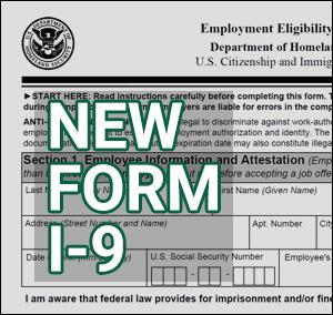 New Form I-9