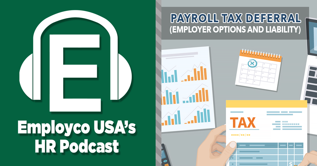 Podcast: Payroll Tax Deferral