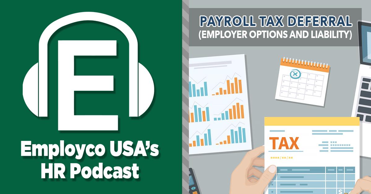 Podcast: Payroll Tax Deferral