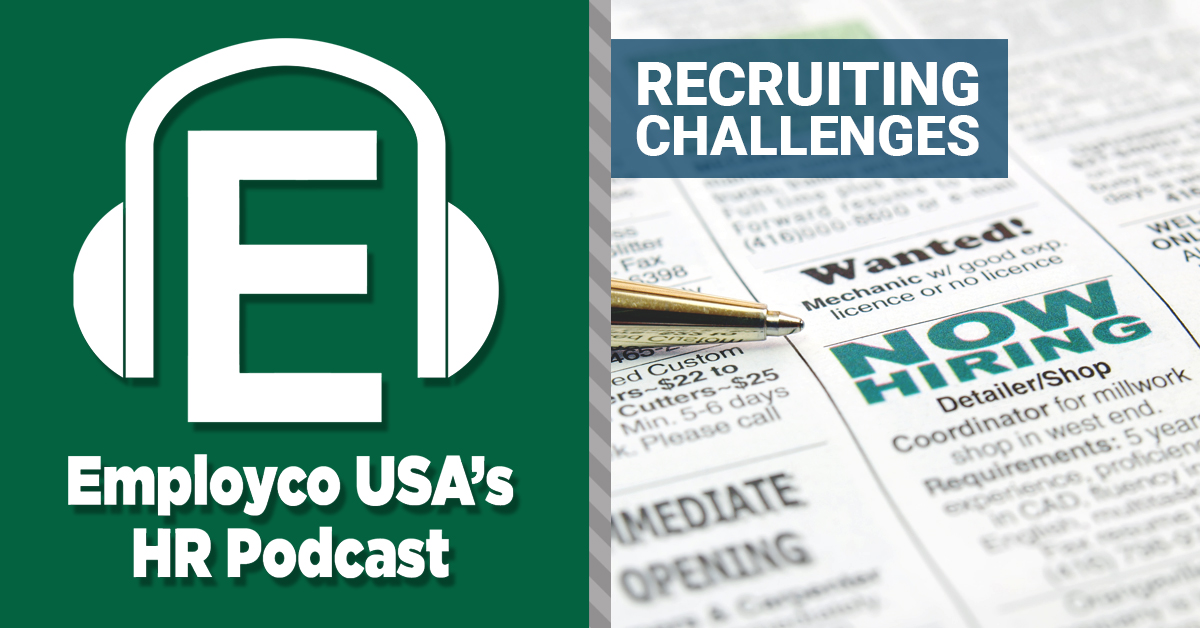 Podcast: Recruiting Challenges