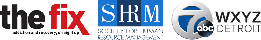 The Fix and SHRM and WXYZ Logos