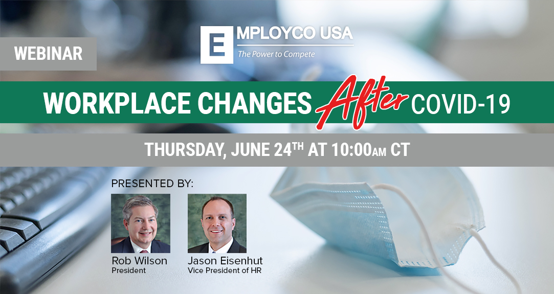 WEBINAR: Workplace Changes After COVID-19