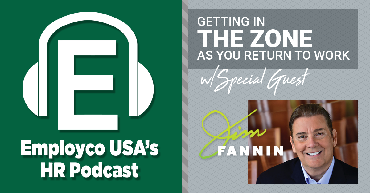 Podcast: Getting in the Zone as You Return to Work